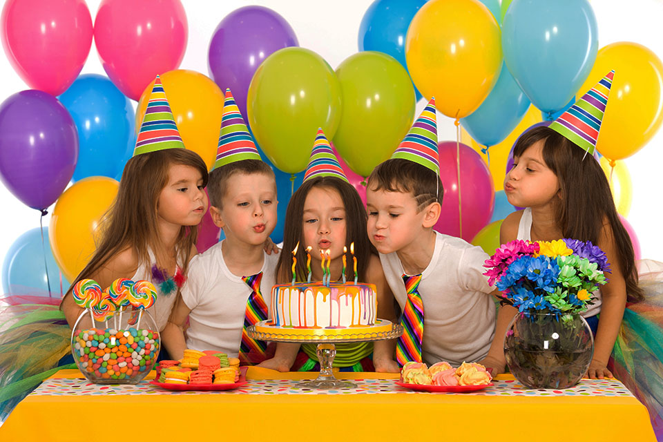 детский день рождения в Осатьфево, Рязановское, Подольск, Щербинка